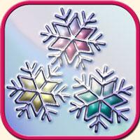 冬のイメージ画像・雪の結晶