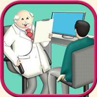 医療のイメージ画像・診察の情景