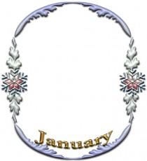 Januaryのフレーム素材