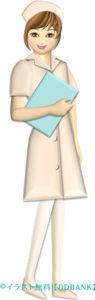 綺麗な看護婦さんのイラスト