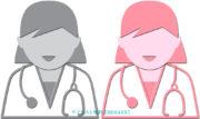 女性ドクターのアイコン