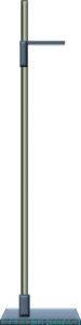 身長計(医療業務用の身長測定器)のイラスト