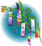 笹飾りのイラスト