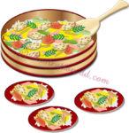 春菜寿司のイラスト