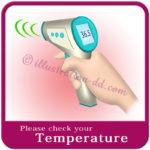 「Please check your Temperature」image