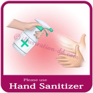 「Please use Hand Sanitizer」image