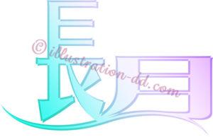 長月のタイトル・ロゴのイラスト