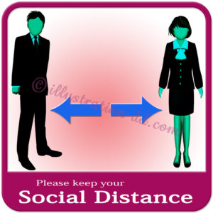 「Please keep your Social Distance」image