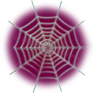 蜘蛛の巣のイラスト