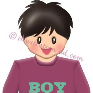 男の子3アイコン